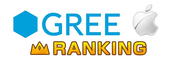 GREE ios ranking