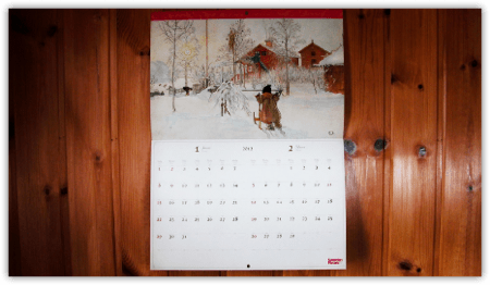 DropShadow ~ calendar wallth  mini