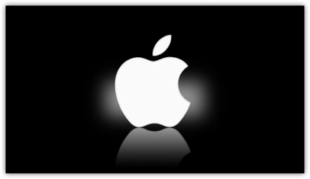 Th DropShadow ~ apple wallpaper logo