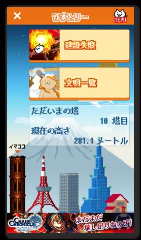 ニャベルの塔 1 037