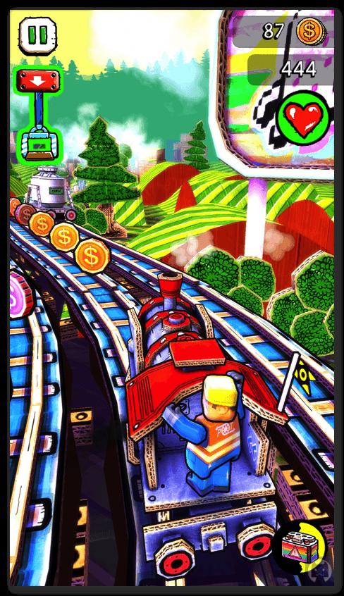 Paper train rush 2 010