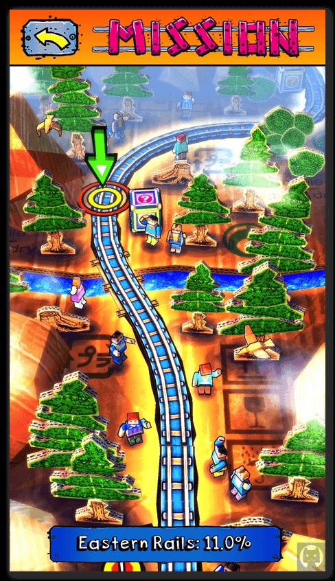 Paper train rush 3 009